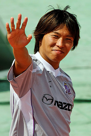 SATO Hisato grabbed the first goal (photo from June) - stefanole